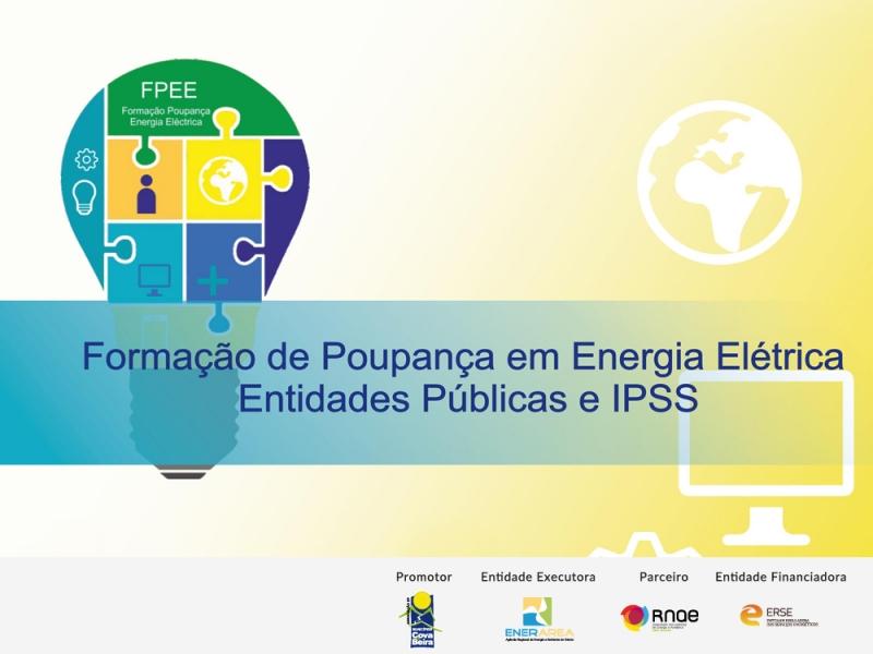 Formação em Poupança de Energia Elétrica em Entidade Públicas e IPSS